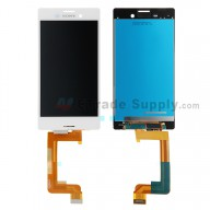 For Sony Xperia M4 Aqua LCD Screen and Digitizer Assembly Replacement - White - Grade S+