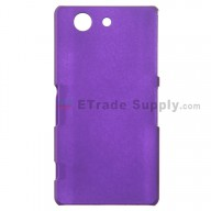 For Sony Xperia Z3 Compact Protective Case - Purple - Grade R
