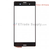 For Sony Xperia Z3 Digitizer Touch Screen Replacement - Black - Grade S+