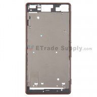 For Sony Xperia Z3 Front Housing Replacement - Copper - Grade S+