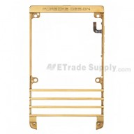 For BlackBerry Porsche Design P'9981 Front Housing Replacement ,Gold - Grade S+