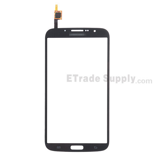 For Samsung Galaxy Mega 6.3 I9200 Digitizer Touch Screen Replacement - Black - With Logo - Grade S+