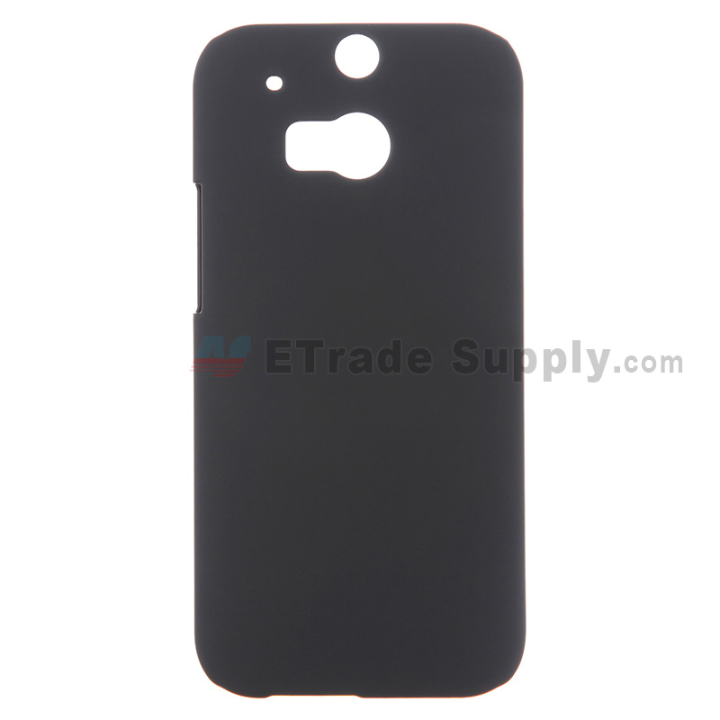 For HTC One M8 Protective Case - Black - Grade R