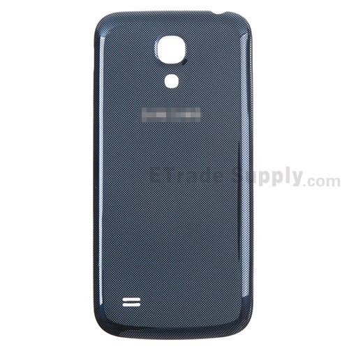 For Samsung Galaxy S4 Mini GT-I9190, GT-I9195 Battery Door Replacement - Sapphire - With Logo - Grade S+