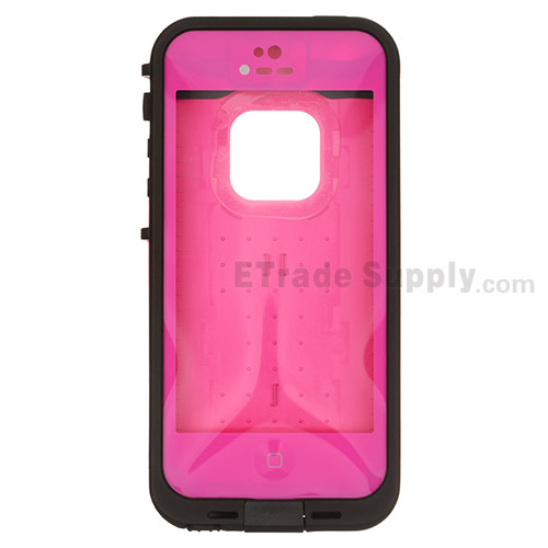 For Apple iPhone 5 Waterproof Protective Case - Pink - Grade S+