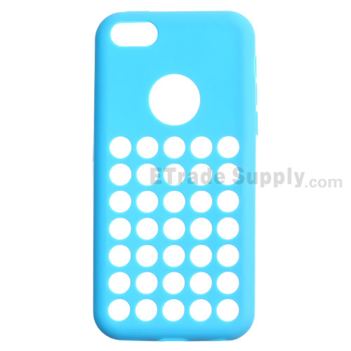 For Apple iPhone 5C Silicone Case - Blue - Grade R