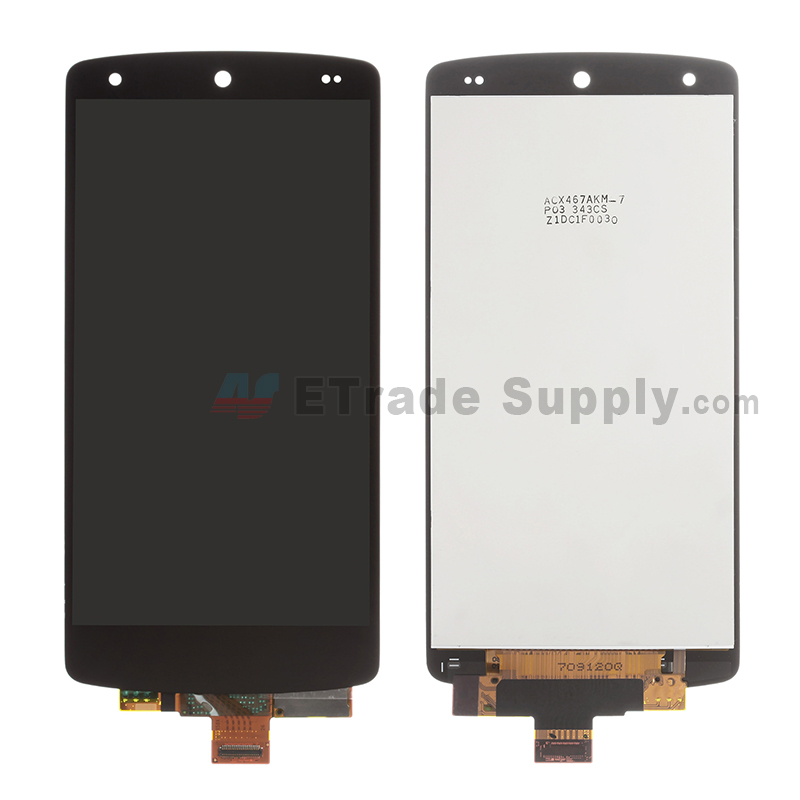 For LG Nexus 5 D820 LCD Screen and Digitizer Assembly Replacement - Black - Without Any Logo - Grade S+
