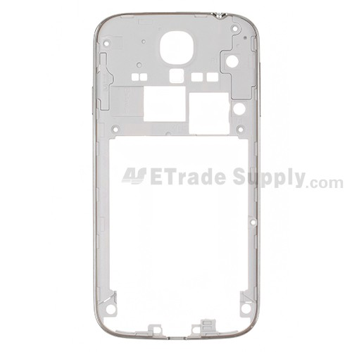 For Samsung Galaxy S4 GT-I9500 Rear Housing Replacement - White - Grade S+