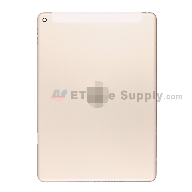 For Apple iPad Air 2 Rear Housing Replacement (Wifi Plus 3G Version) - Gold - Grade S+