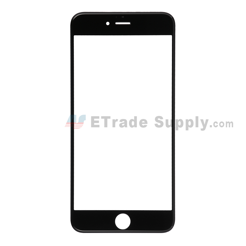 For Apple iPhone 6 Plus Glass Lens Replacement - Black - Grade S+