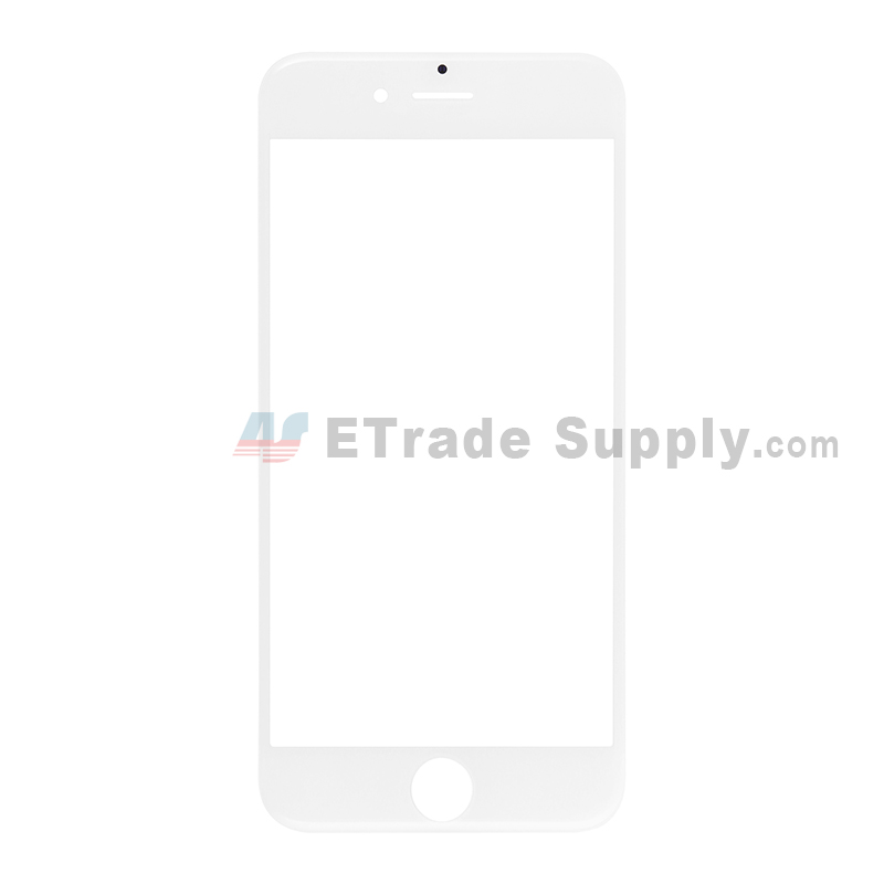 For Apple iPhone 6S Glass Lens Replacement - White - Grade S+