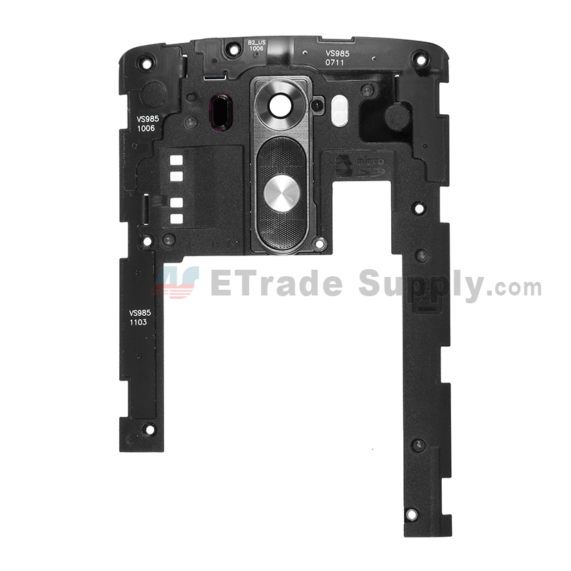 For LG G3 VS985 Rear Housing Assembly  Replacement - Black - Grade S+