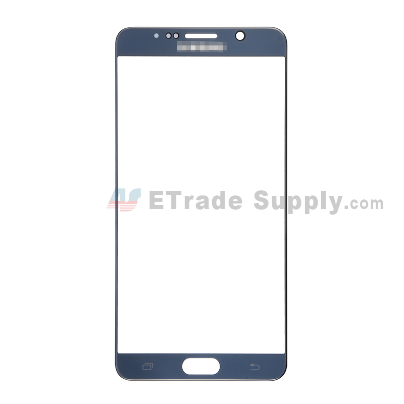 For Samsung Galaxy Note 5 Series Glass Lens Replacement - Sapphire - With Logo - Grade S+