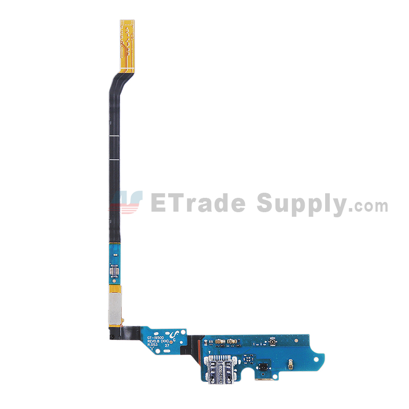 For Samsung Galaxy S4 GT-I9500 Charging Port Flex Cable Ribbon Replacement - Grade S+