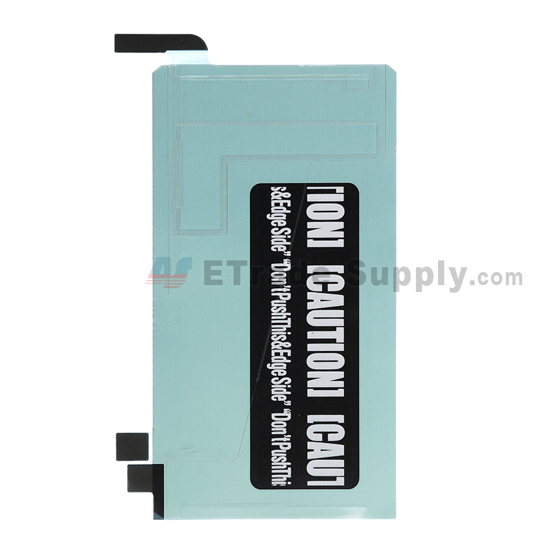 For Samsung Galaxy S6 Edge SM-G925A/G925V/G925P/G925R4/G925T/G925W8/G925I/G925F LCD Back Tape Replacement - Grade S+
