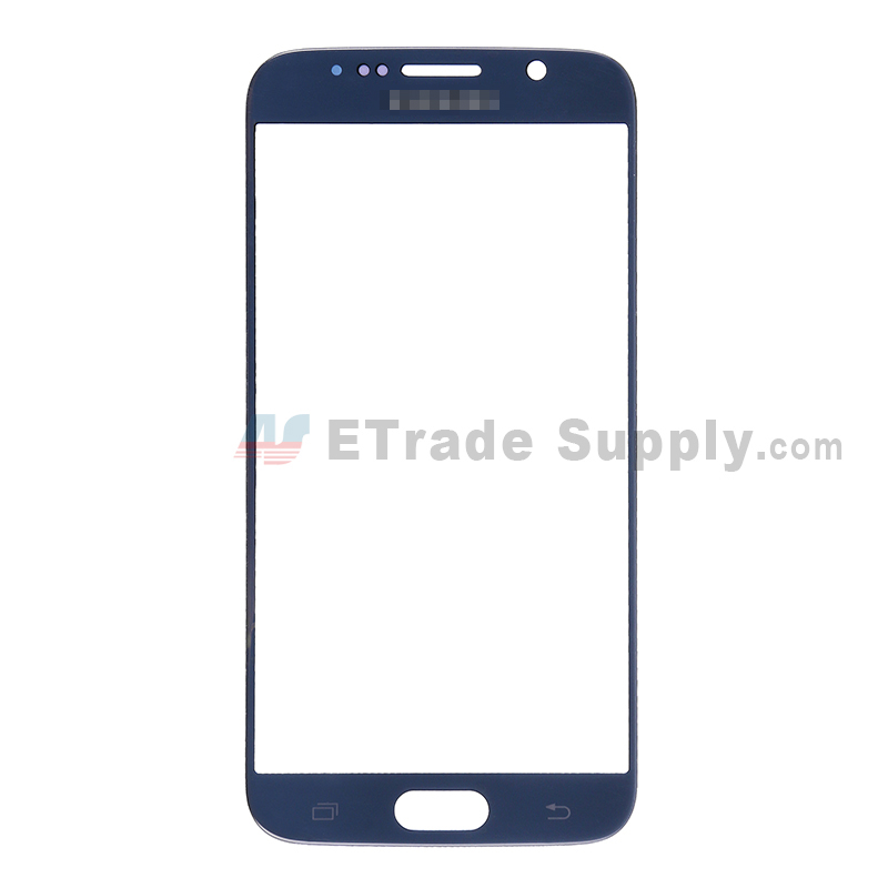 For Samsung Galaxy S6 SM-G920F Glass Lens Replacement - Sapphire - With Logo - Grade S+