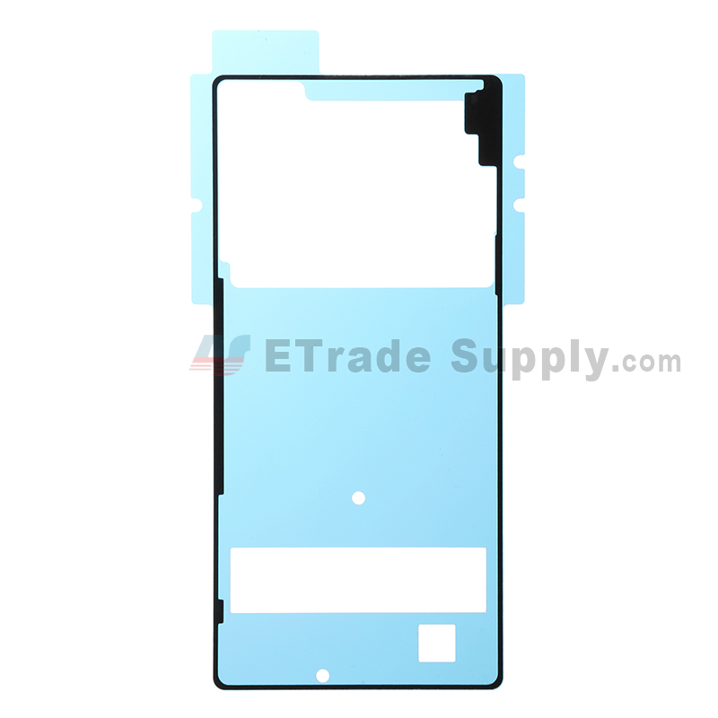 For SN Xperia Z3+ Battery Door Adhesive Replacement - Grade S+