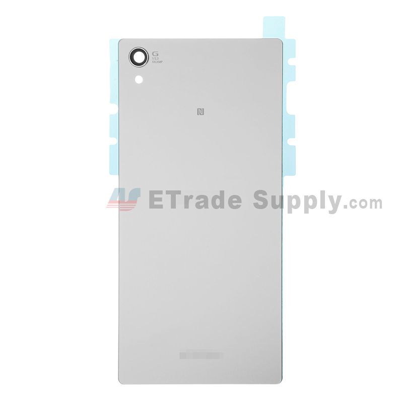 For Sony Xperia Z5 Premium Battery Door  Replacement - White - With Logo - Grade S+
