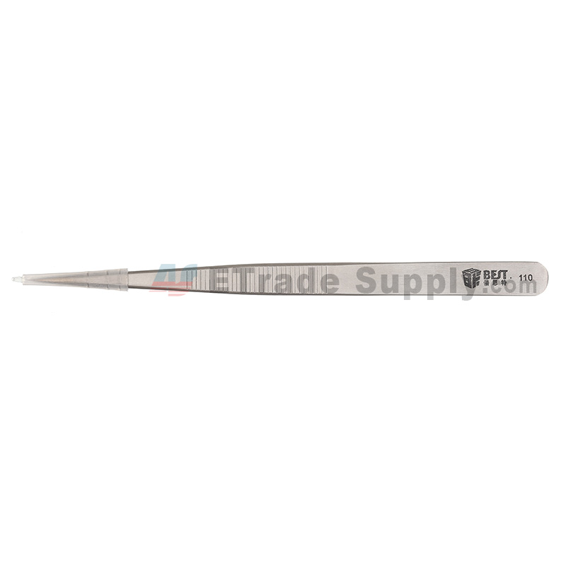 For Straight Tweezers (Model: 110) ,Silver