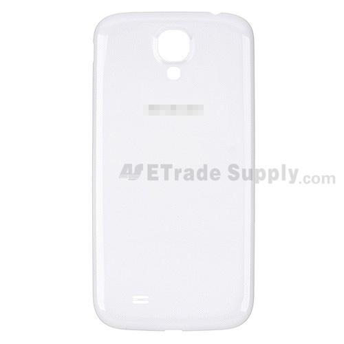 For Samsung Galaxy S4 GT-I9500/I9505/I545/L720/R970/I337/M919/I9502 Battery Door Replacement - White - Grade S+