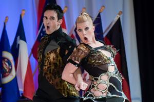 Jordan Frisbee & Tatiana Mollmann-Bennett