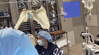 AR in the OR: First augmented reality shoulder replacement surgery in Texas