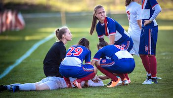 A blood test for concussion? Not exactly.