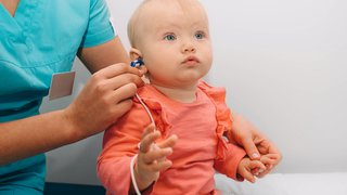 Unlocking language for babies who are deaf or hard of hearing