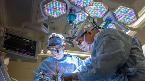 Liver transplant procedure