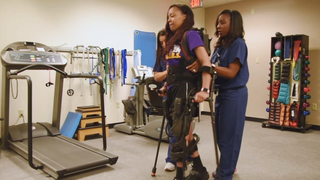 Brain Experts Help Paralyzed College Student Walk Again