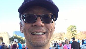 Heart attack patient rebuilds his health: 'I'm still running'