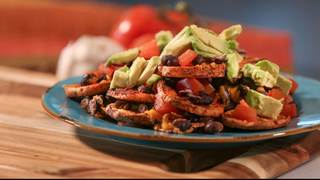 Heart Healthy Sweet Potato Nachos