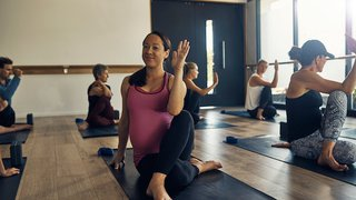 Yoga and pregnancy: A safe, effective fitness option for moms-to-be