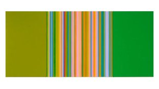 Abstract vertical color bars