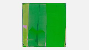 Abstract green art