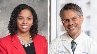 Dr. Carolee Estelle and Dr. Jeff McKinney
