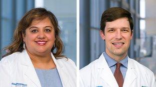 Dr. Julie Trivedi and Dr. Brad Cutrell