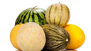 Beat the heat with heart-healthy cantaloupe, honeydew, and watermelon