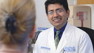 The importance of creating a personal bond between oncologist and patient