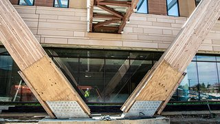Glulams grow in Frisco: An uplifting tale of timber at the new UTSW Medical Center