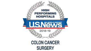 2018 Colon Cancer High Performing