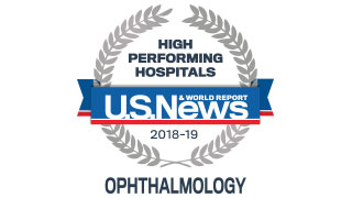 2018 Ophthalmology High Performing