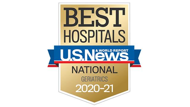 2020 USNWR best hospital geriatrics 320x180