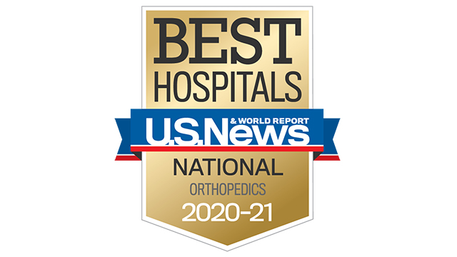 2020 USNWR best hospital orthopedics 320x180