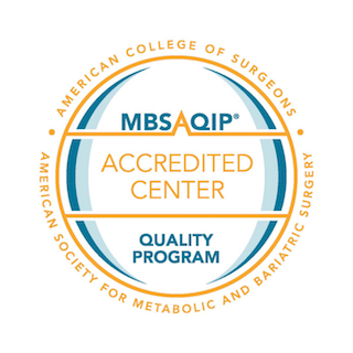 MBSAQIP Accredited by the Metabolic and Bariatric Surgery Accreditation and Quality Improvement Program