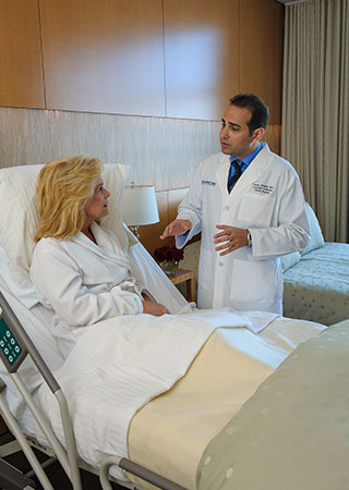 Breast Reconstruction Surgery Doctor Visit