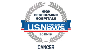 2018 Cancer US News High Performing