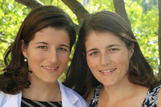 Dr. Horsager's twin daughters