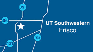 UT Southwestern Frisco map.
