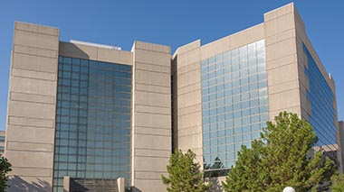 James W. Aston Ambulatory Care Center building in daytime